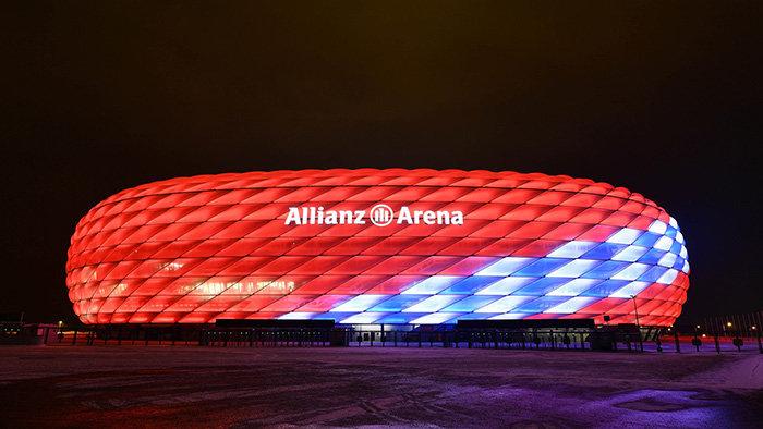 A que se le debe el nombre de Allianz Arena