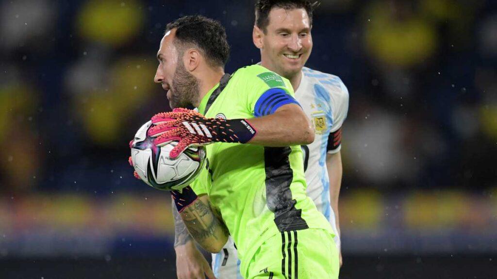 Argentina elimina Colombia