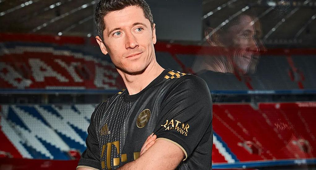 Away Kit del Bayern Múnich camisetas 1