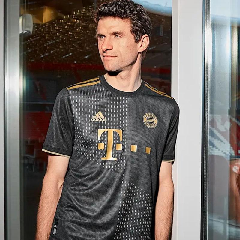 Away Kit del Bayern Múnich camisetas 2