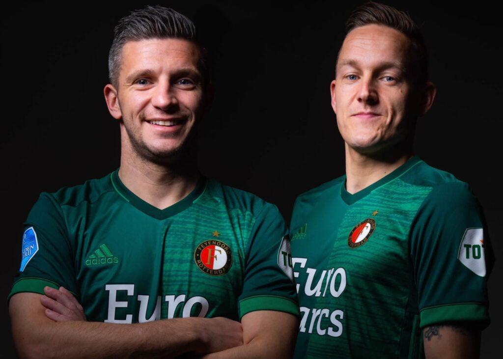 Camiseta local Adidas Feyenoord 2021-22
