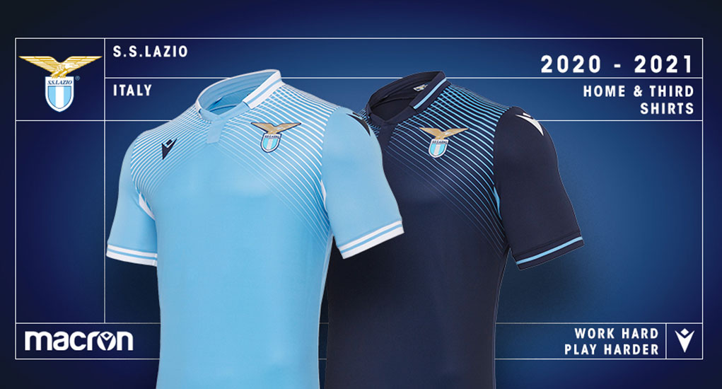 Camiseta local Macron 2021-22 SS Lazio