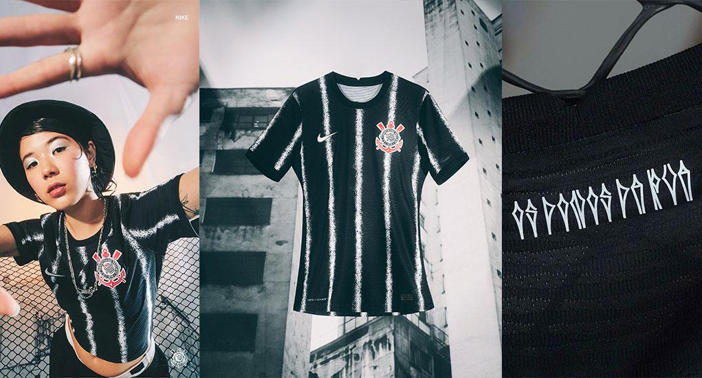 Camiseta local Nike Corinthians 21-22