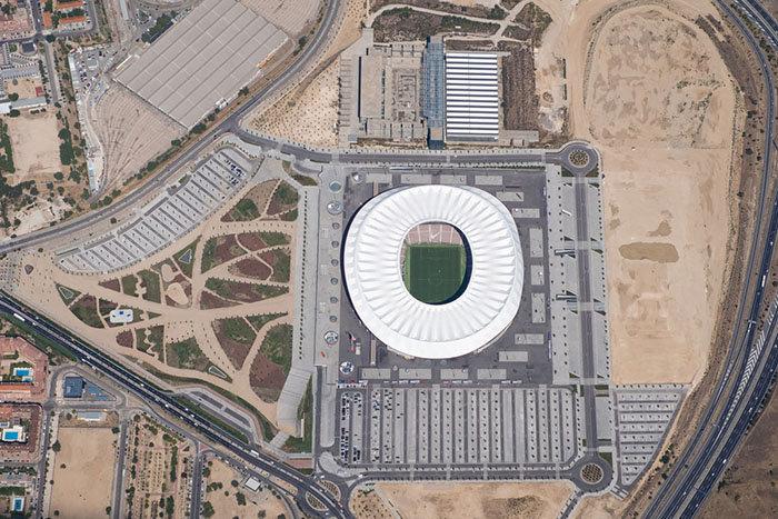 Cómo se puede intervenir en el Wanda Metropolitano