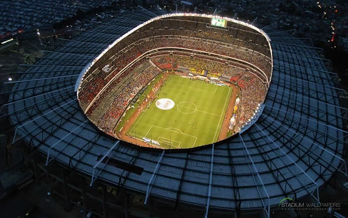 Estadio Azteca - México nocturno