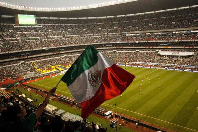 Estadio Azteca - México vista interior