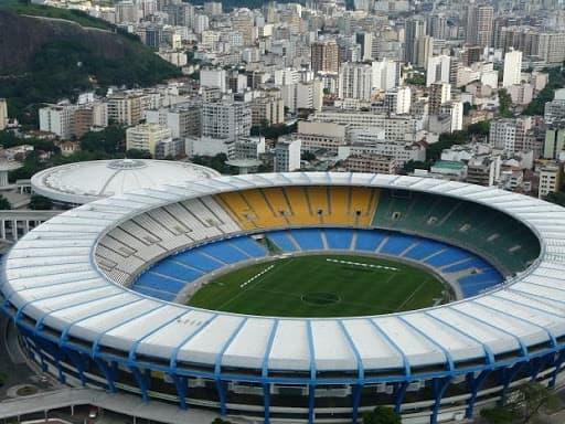 Estadio Maracaná brasil aereo
