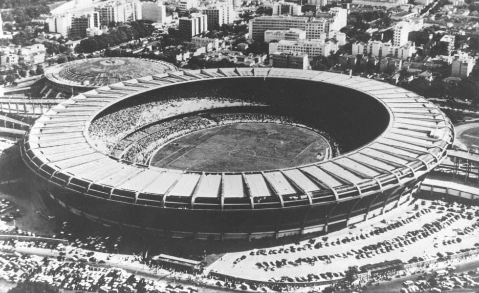 Estadio Maracaná brasil antiguo