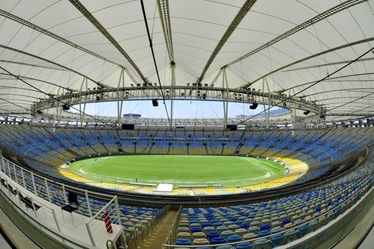 Estadio Maracaná interior brasil