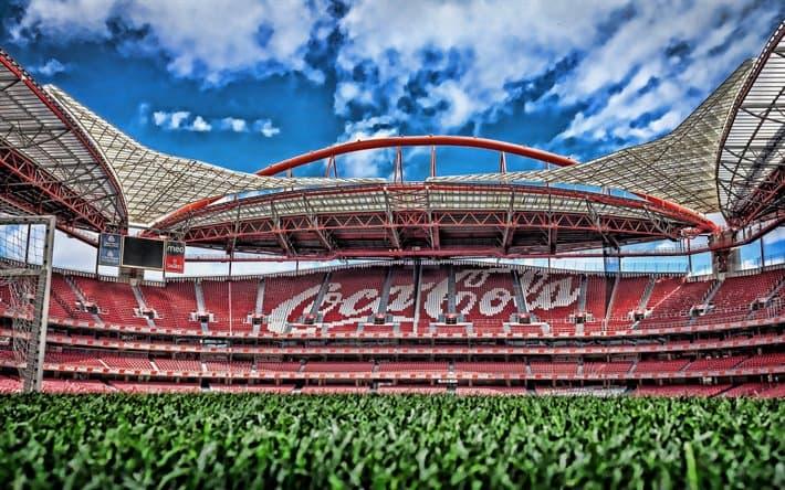 Estadio da Luz - Portugal cancha lisboa