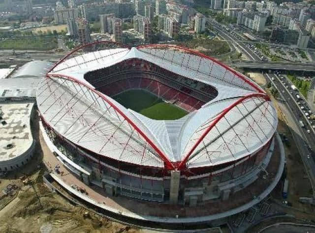 Estadio da Luz - Portugal exterior