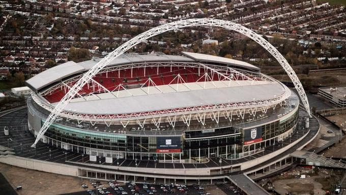 Estadio de Wembley exterior