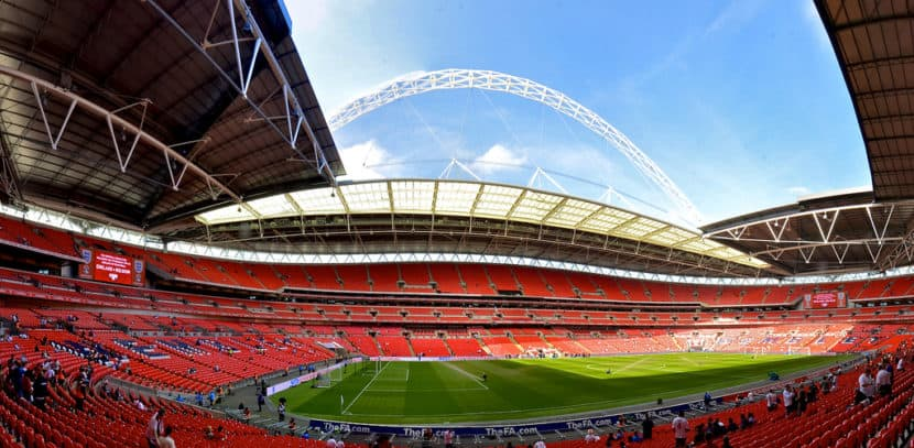 Estadio de Wembley inglaterra