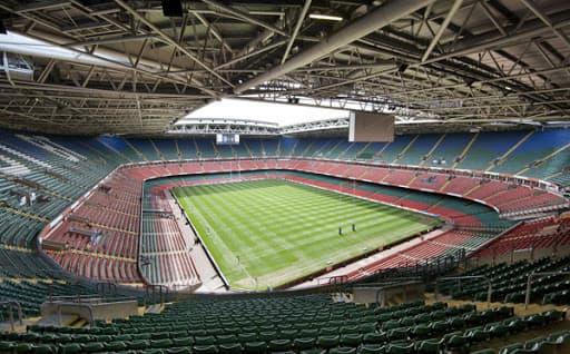 Estadio del Millenium gales interior