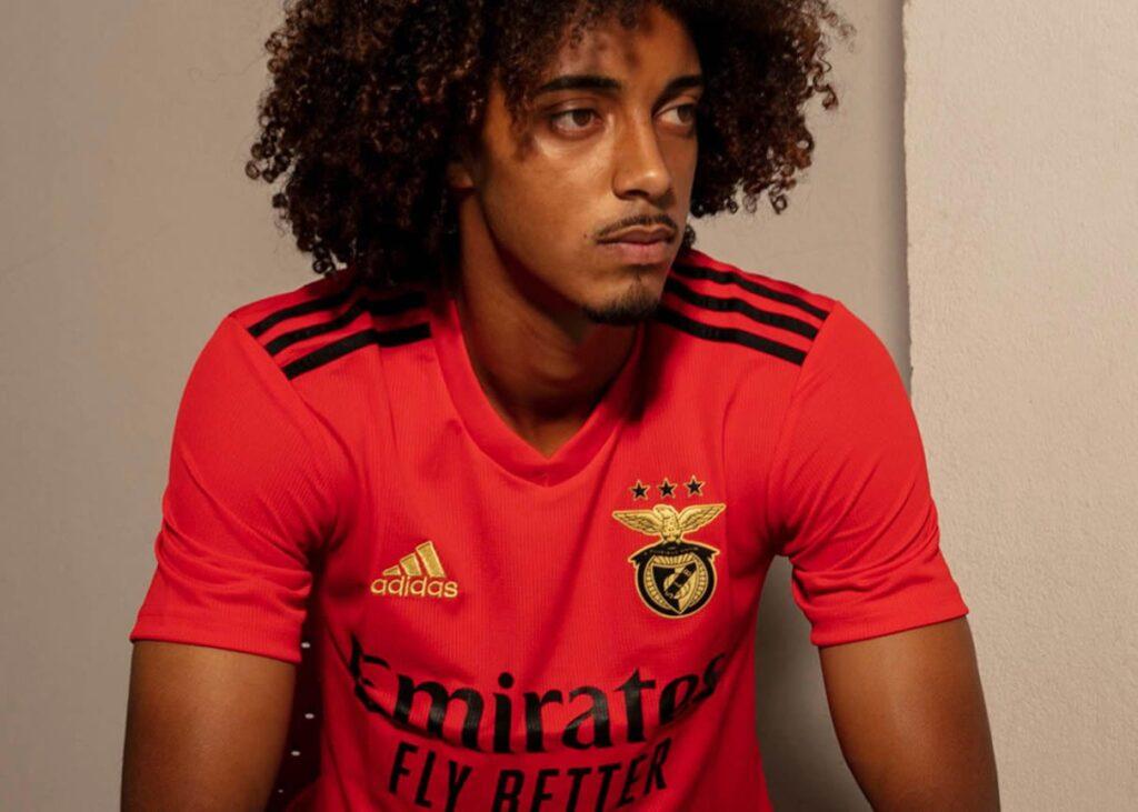 Uniformes Adidas Benfica 2021-22