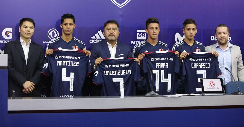 equipo Universidad de Chile