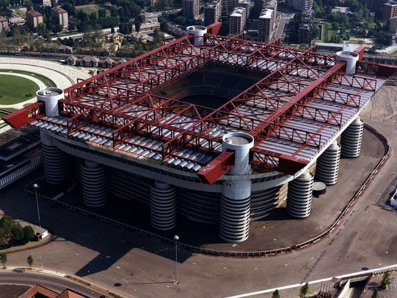 estadio Giuseppe Meazza milan italia