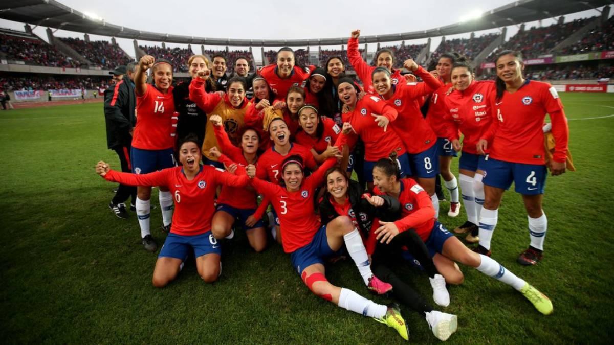 futbol femenino de Chile
